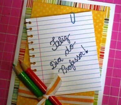 cartao feliz dia dos professores