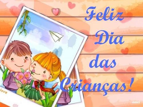 mensagem feliz dia das criancas