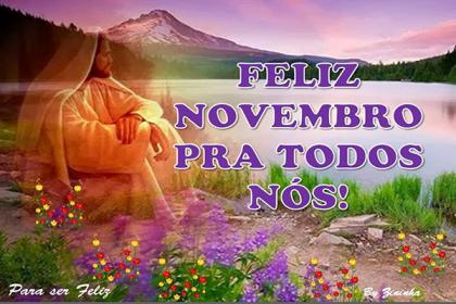feliz novembro para todos