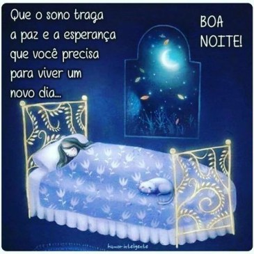 boa noite mensagem de boa noite