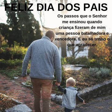 feliz dia dos pais com carinho