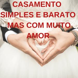 casamento simples e barato