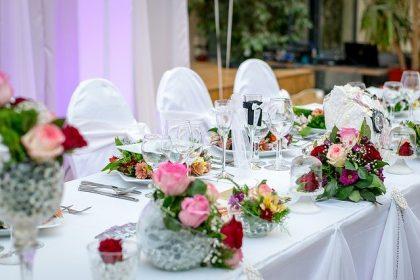decoração de casamento simples e bonito
