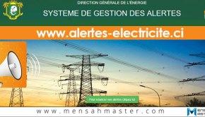 Alertes Electricité