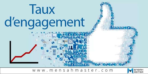 Taux d'engagement Facebook