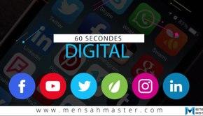 60 secondes digital lancement
