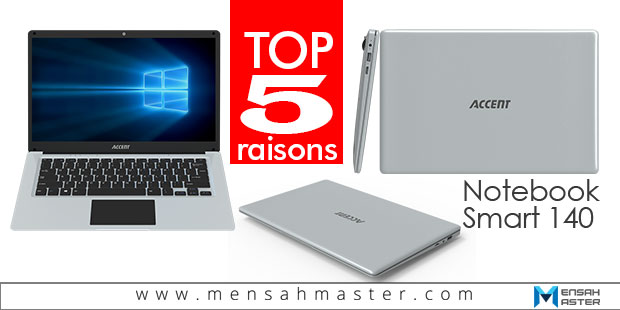 Accent notebook smart 140 article