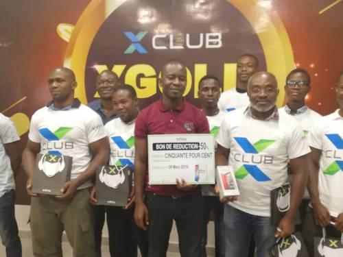 XGOLDS gagnants Infinix-redeem