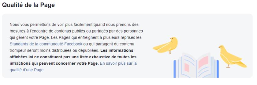 qualité de la page mensahmaster facebook