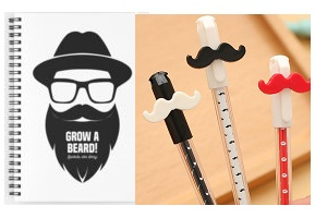 Beard Stationery | Men's Beard