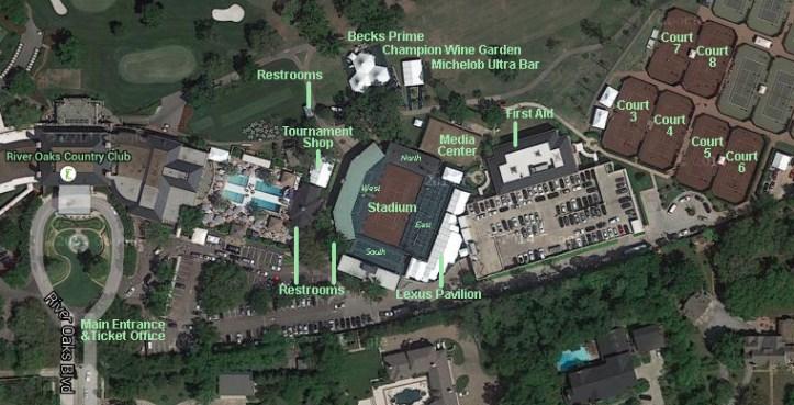 Resultado de imagen para River Oaks Country Club