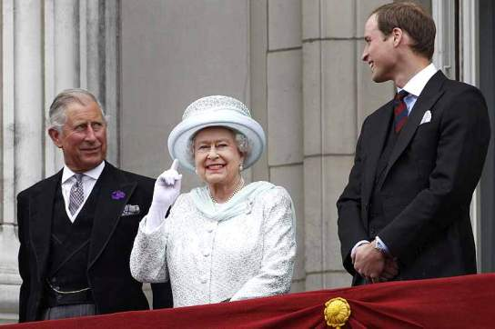 The Queen and Prince Charles