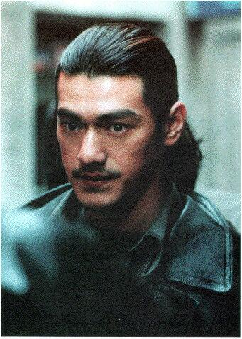 Takeshi Kaneshiro With Long Hair Style Black 1 Comment