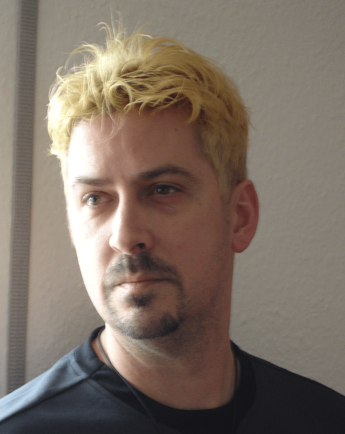 Man Very Short Hairstyle With Light Blond HairPNG 3