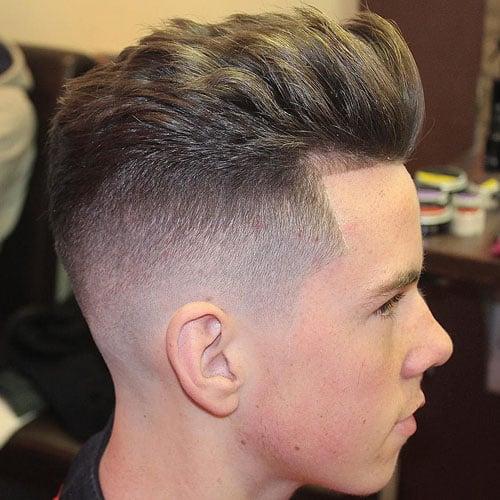 Skin Fade Haircut Bald Fade Haircut 2019 Mens
