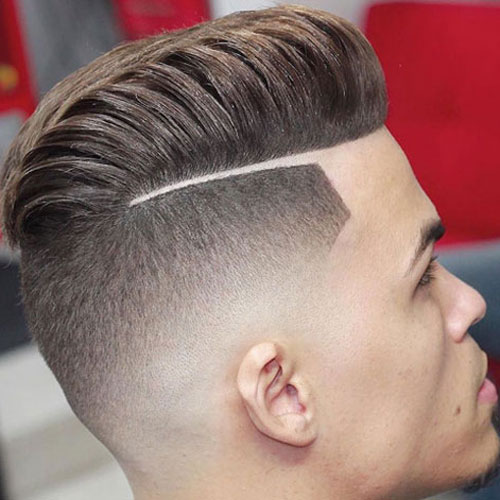 Mens Hairstyles Taper Fade Haircut For Men Low High Afro Mohawk In