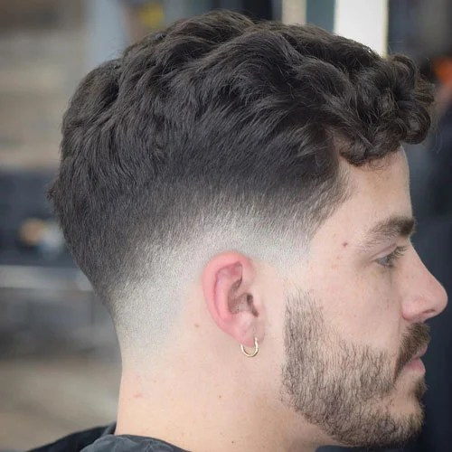 Curl S Fade Low Cut