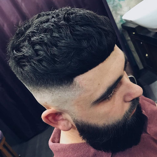 French Crop Haircut Cropped Hair For Men Mens
