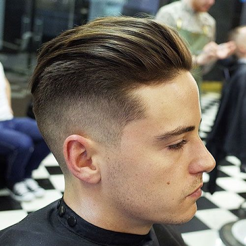 Image Result For Short Back And Long Sides Hairstyle