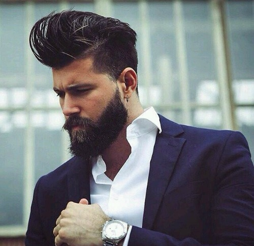 Messy Long Top Hipster Haircut
