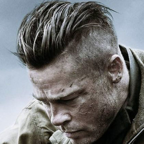 Slicked Back Hairstyles Mens Hairstyles Haircuts 2017