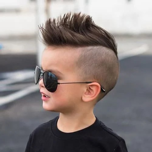 Boys Haircuts 14 Cool Hairstyles For With Short Or