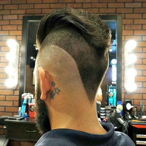 The V Shaped Haircut Mens Hairstyles Haircuts 2019