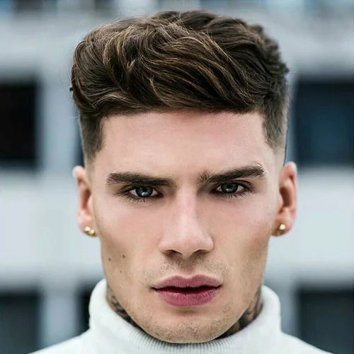 Long Face Men Hairstyles Page 1