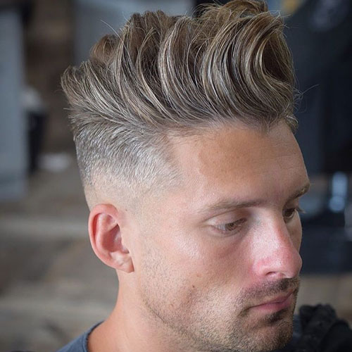 37 Best Widows Peak Hairstyles For Men 2019 Guide
