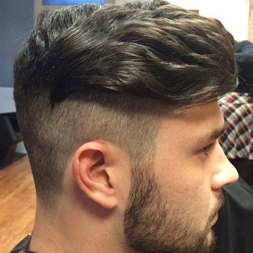 23 Disconnected Undercut Haircuts Mens Hairstyles