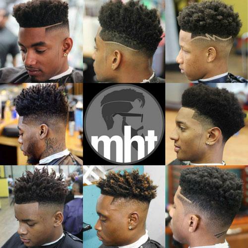 High Top Fade Haircut Mens Hairstyles Haircuts 2017