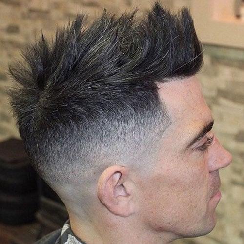 Textured Comb Over Short