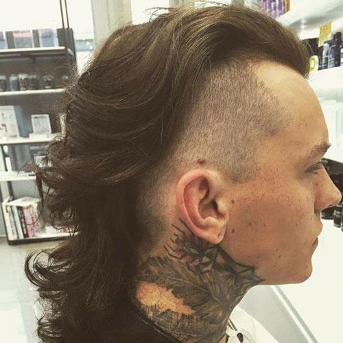 Mullet Haircut Mens Hairstyles Haircuts 2017