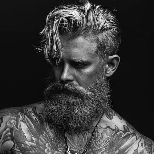 Undercut With Beard Mens Hairstyles Haircuts 2019
