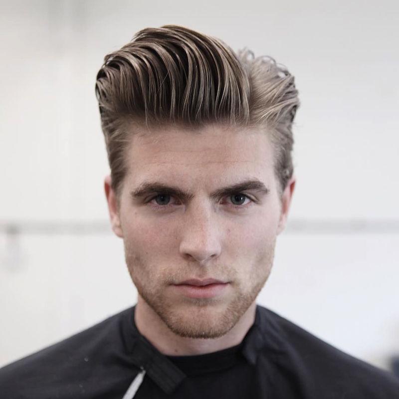 morrismotley_longer natural hair slick pomp