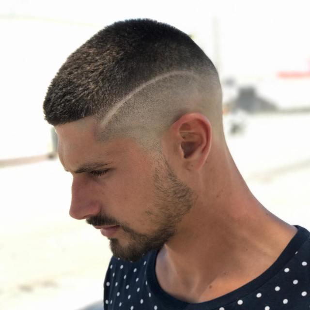 the modern buzz haircut