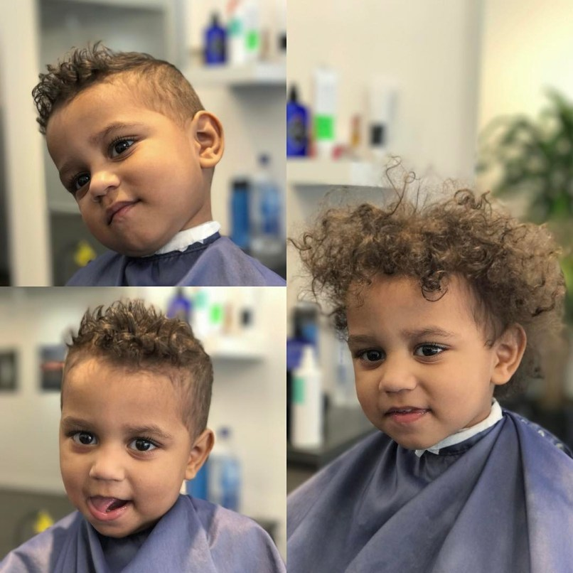 Toddler Boy Curly Hair Cut Zieview