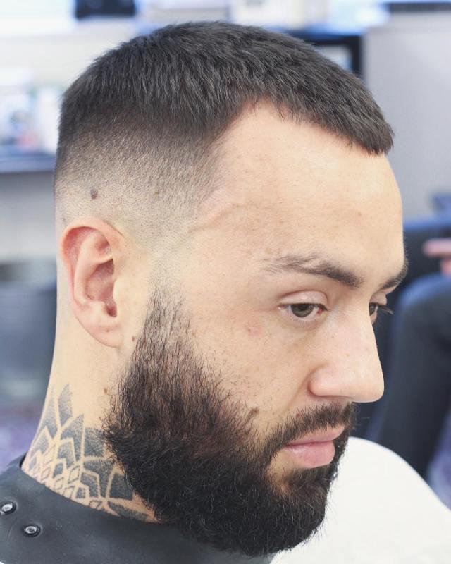 receding hairline haircuts