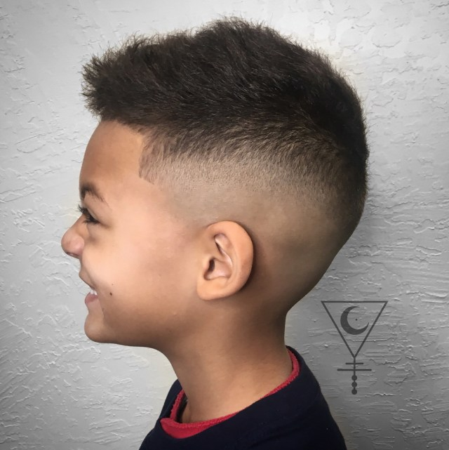 popular haircuts for little boys 2018