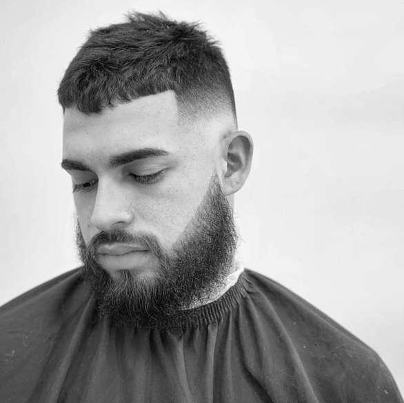 Short Haircuts For Balding Men