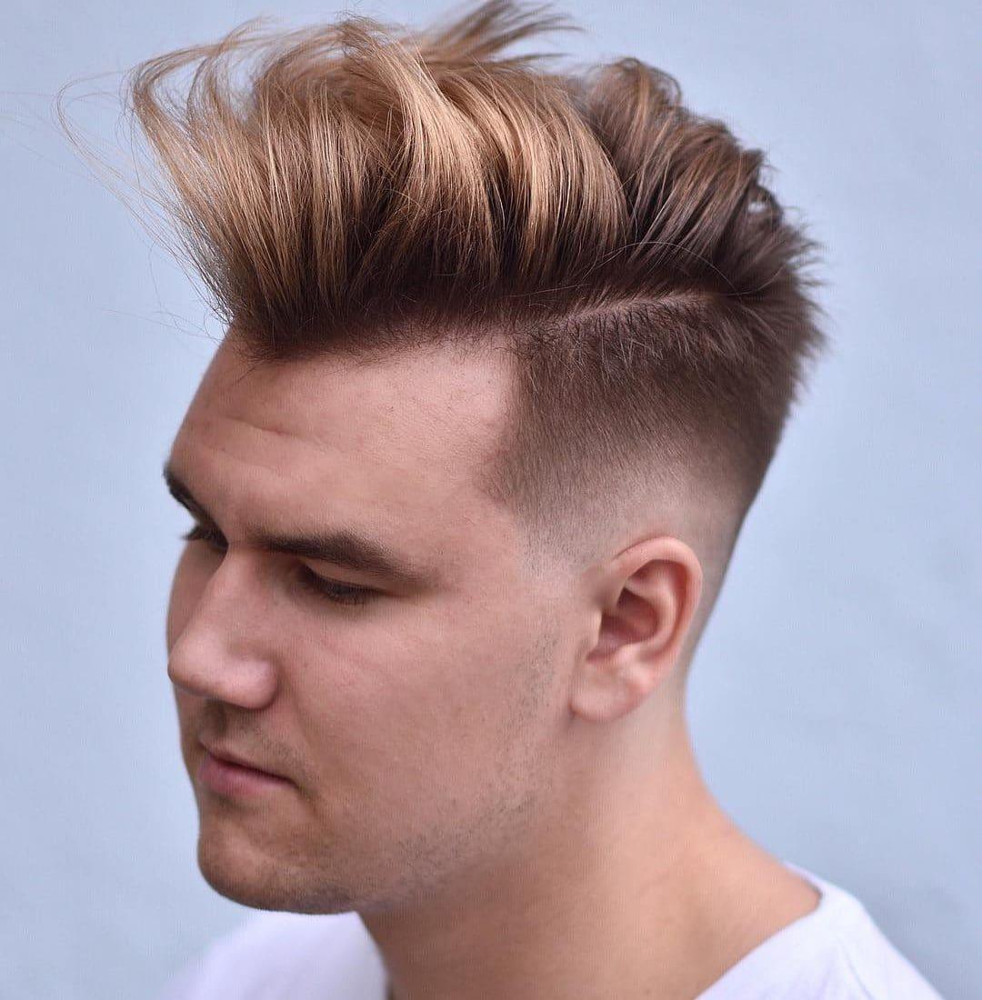 Short Sides Long Top Mens Haircut