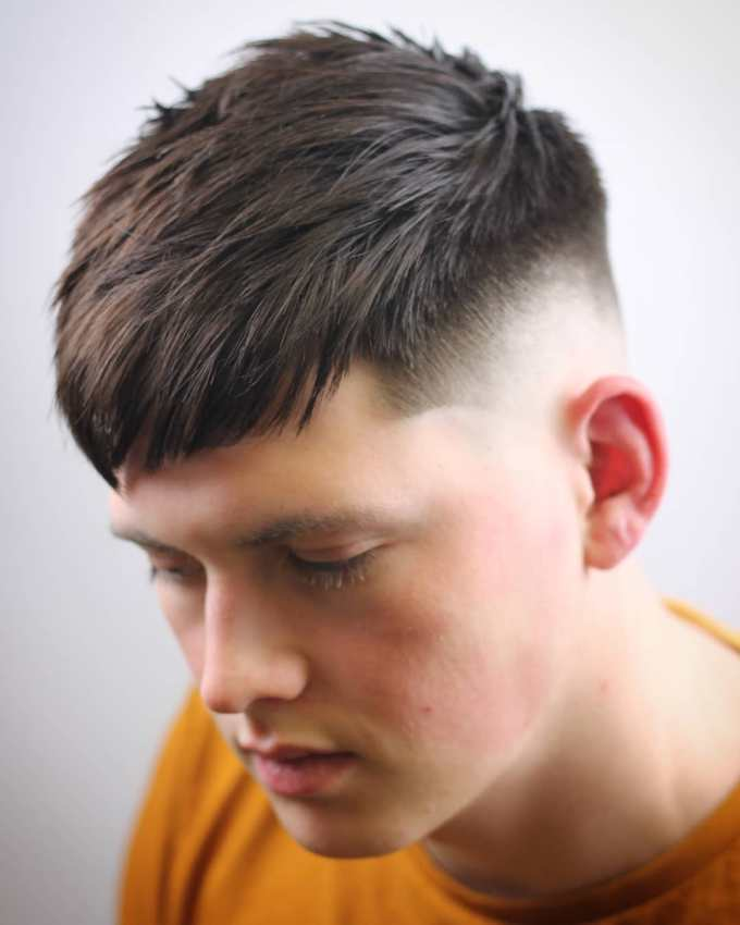 types of haircuts for men