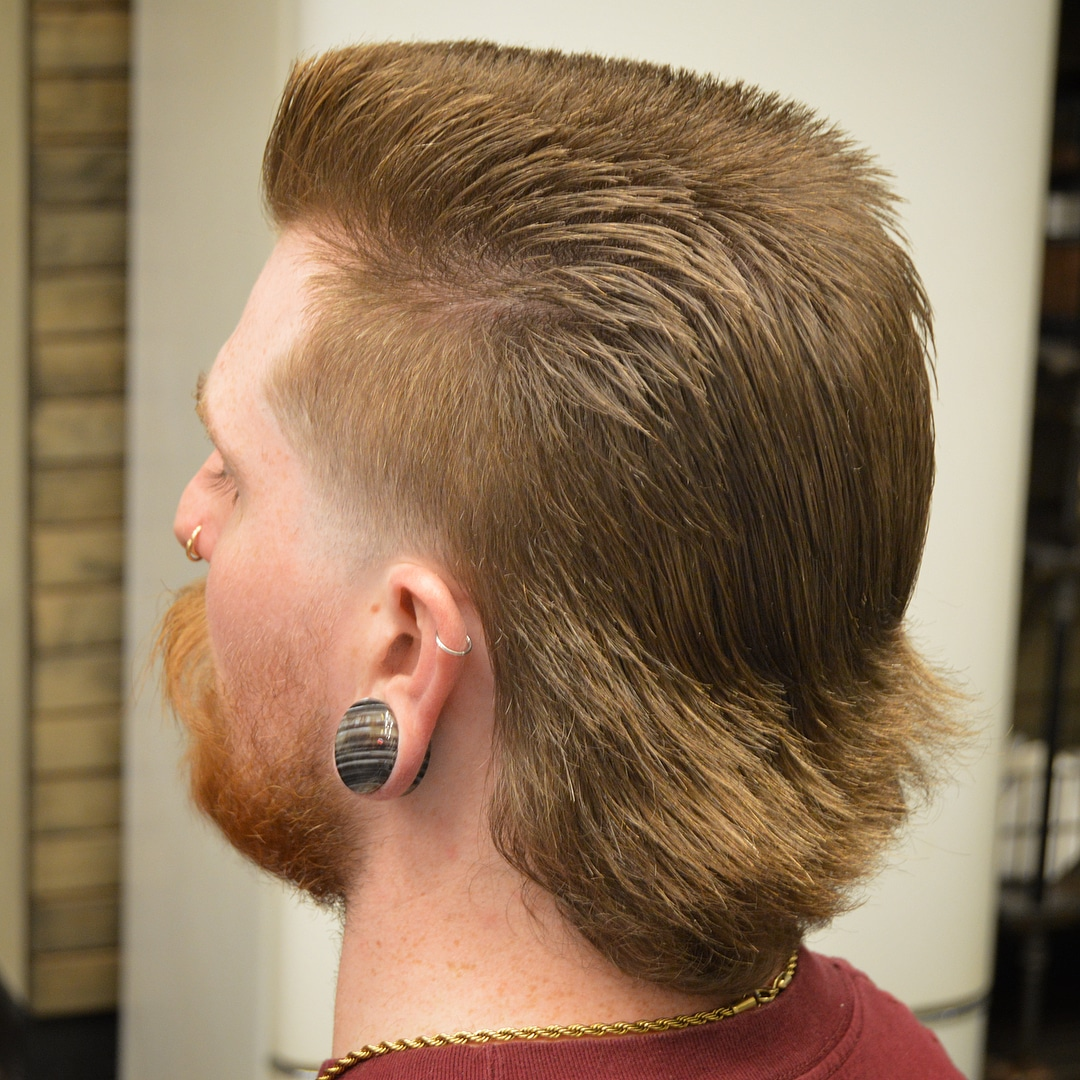 The Mullet Haircut Mens Hairstyle Trends
