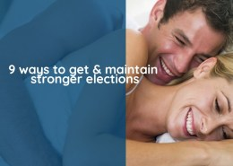 9 ways to get & maintain stronger erection