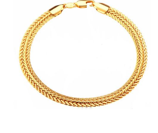 gold filled bracelet