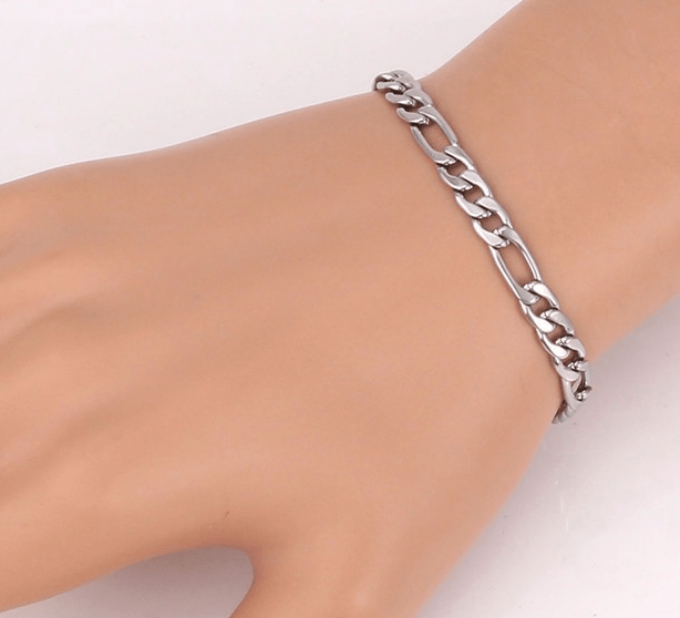bracelet stainless products mt magnetic personal care pain therapy steel relief jewelry en bracelets laced