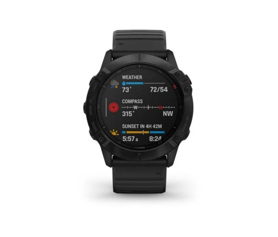 Garmin Fenix 6 Sapphire sport watches