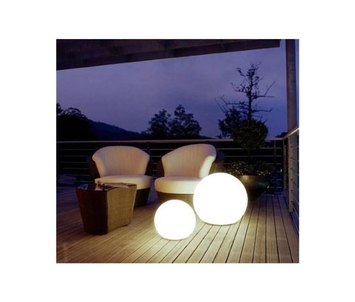 Articure exterior patio orb globe lights