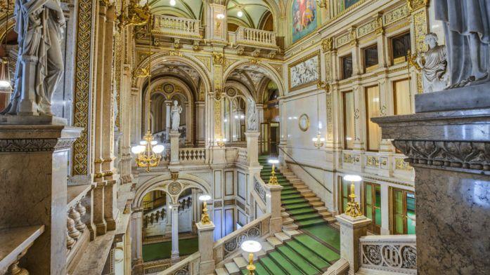 The Vienna State Opera. Ringstrasse. Vienna. Austria