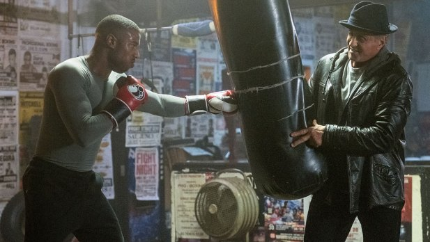 Michael B. Jordan stars as Adonis Creed and Sylvester Stallone as Rocky Balboa in CREED II, a Metro Goldwyn Mayer Pictures and Warner Bros. Pictures film.